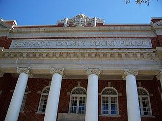 Brooksville, Florida - Hernando County Courthouse