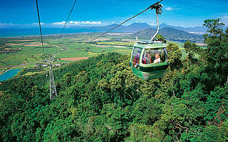 Skyrail Rainforest Cableway - View from Skyrail