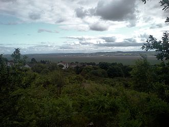 Heswall - Heswall Dales, looking over the Dee to Wales