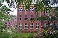 Het voormalige klooster Mariënbosch Zijgevel Art Deco Amsterdamse School Charles Estourgie Nijmegen 1924 2.jpg
