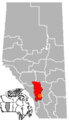 High River, Alberta Location.png