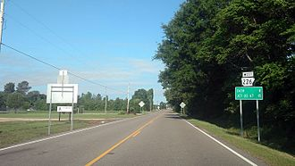 Arkansas Highway 226 - Highway 226 west of Jonesboro