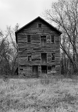 National Register of Historic Places listings in Delaware County, Oklahoma - Image: Hildebrand Mill