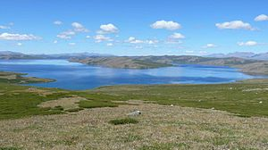 Tuva - Hindiktig-hol lake, Tuva