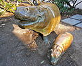 Hippo n Baby P Zoo.JPG