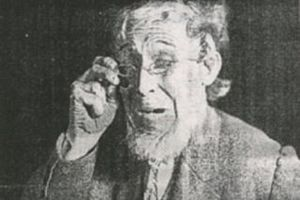 "Charles ""Chic"" Sale - Still image from His Nibs of Charles ""Chic"" Sale, wherein he played several of the roles. The film co-starred Colleen Moore."