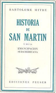 book by Bartolomé Mitre