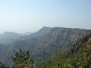 Lushai Hills - Hmuifang mountainside