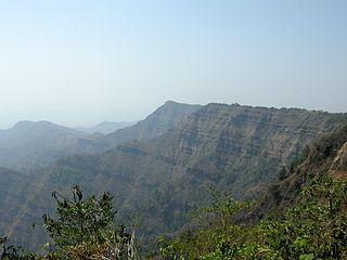 Lushai Hills mountain in India