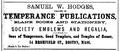 Hodges BromfieldSt BostonDirectory 1868.png