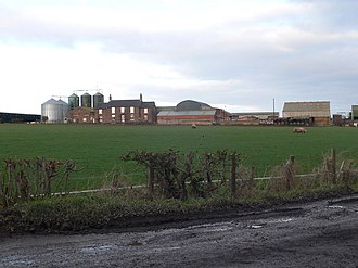 Listed buildings in Ince - Image: Holme Farm, Ince