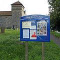 Holy Trinity Church Nuffield, Oxon, England - notice board.jpg