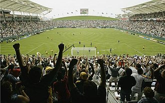 Sports in Los Angeles - StubHub Center (in Carson, California) is the home of LA Galaxy and Los Angeles Chargers.
