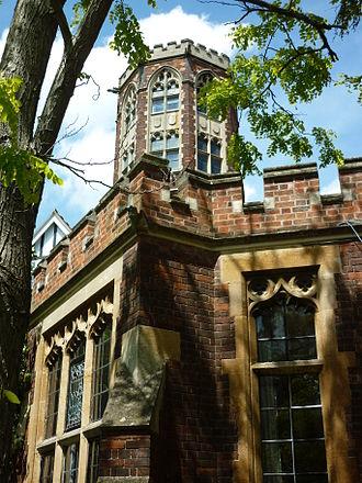 Homerton College, Cambridge - Homerton's Castellated Tower.