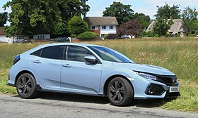 Honda Civic 1.5 VTEC 1498cc registered March 2017.jpg