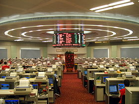 illustration de Hong Kong Stock Exchange