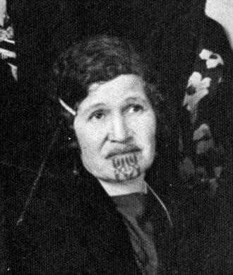 Āpirana Ngata - Arihia Kane Tamati, Ngata's wife.