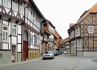 Hornburg - Timber framed houses