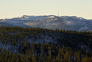 Northern Black Forest - The Hornisgrinde seen from the Hohloh