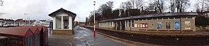 Horsforth railway station - Panorama of Horsforth station