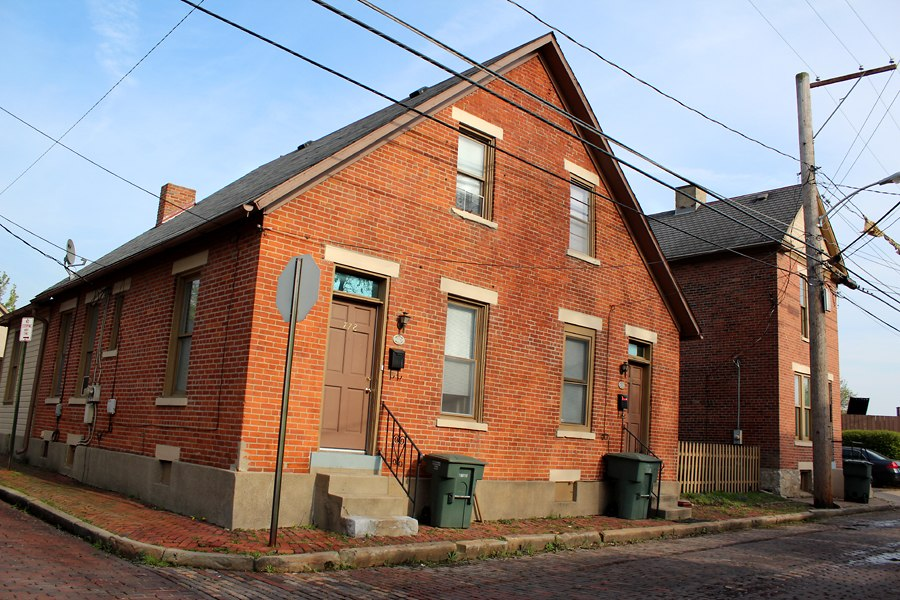 House in Brewery District, Columbus, Ohio