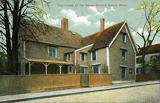 House of the Seven Gables - Before 1908–1910 restoration