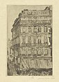 House on the Boulevard Anspach, print by James Ensor, 1888, Prints Department, Royal Library of Belgium, S. II 53357.jpg