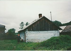Czaszyn - Image: House walenty gocek czaszyn poland 1990