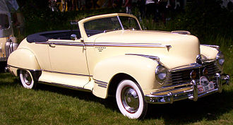 Hudson Commodore - 1947 Hudson Commodore Convertible Brougham