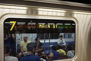 R188 (New York City Subway car) - Image: Hudson Yards (21208150530)