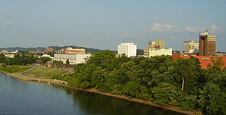 Huntington-Ashland metropolitan area - Huntington, West Virginia