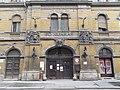 Hunyadi Square Market Hall, Eotvos Street, main exit, 2016 Budapest.jpg