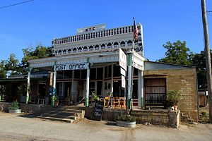 Hye, Texas - Image: Hye General Store & Post Office