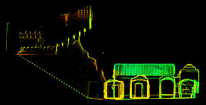 Hypogeum - 3D laser scan profile of the Hypogeum of the Volumni