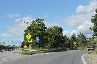 Interstate 189 - Image: I189 west terminus