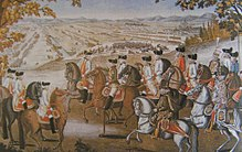 Joseph II and his soldiers in 1787 (Source: Wikimedia)