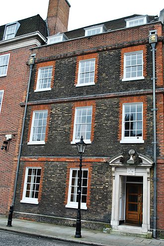 Gray's Inn - Francis Bacon House at Gray's Inn