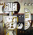 Ibrahim Kodra, The birth of the idol, 1971 oil on canvas, 80x100 cm.JPG