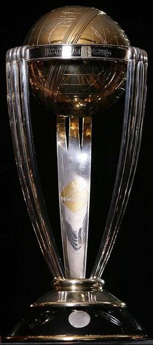 Cricket World Cup - Official trophy awarded since the 1999 World Cup
