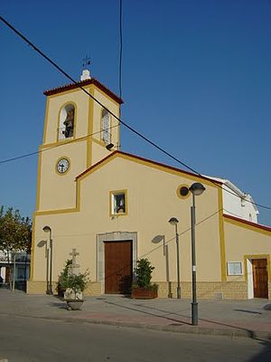 Torre-Pacheco - Image: Iglesia de San Cayetano