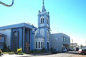 Palmeira das Missões - Mother Church in Palmeira das Missões