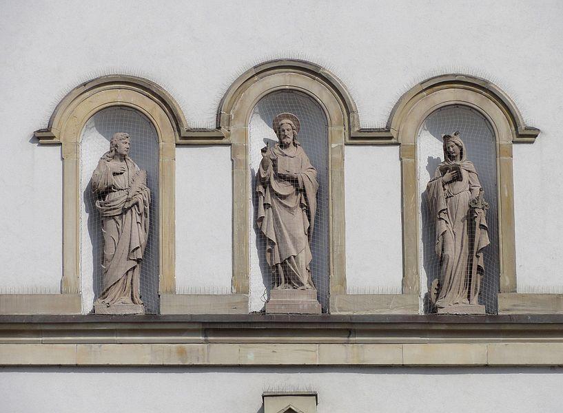 Alsace, Bas-Rhin, Église Saint-Symphorien d'Illkirch (IA00023076).