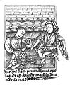 Illustration from a fourteenth century MS in on surgery in the City Library Bristol.jpg