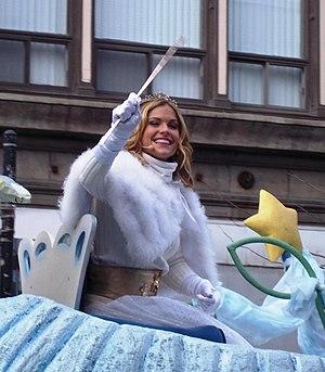 Ima (singer) - Ima, Stars Fairy, in Santa Claus Parade