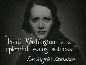 Fredi Washington - Fredi Washington, 1934