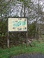 Information board at Dolwyddelan Castle - geograph.org.uk - 1568356.jpg