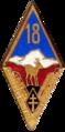 Insigne régimentaire du 18e BIAP puis 18e BIP.png
