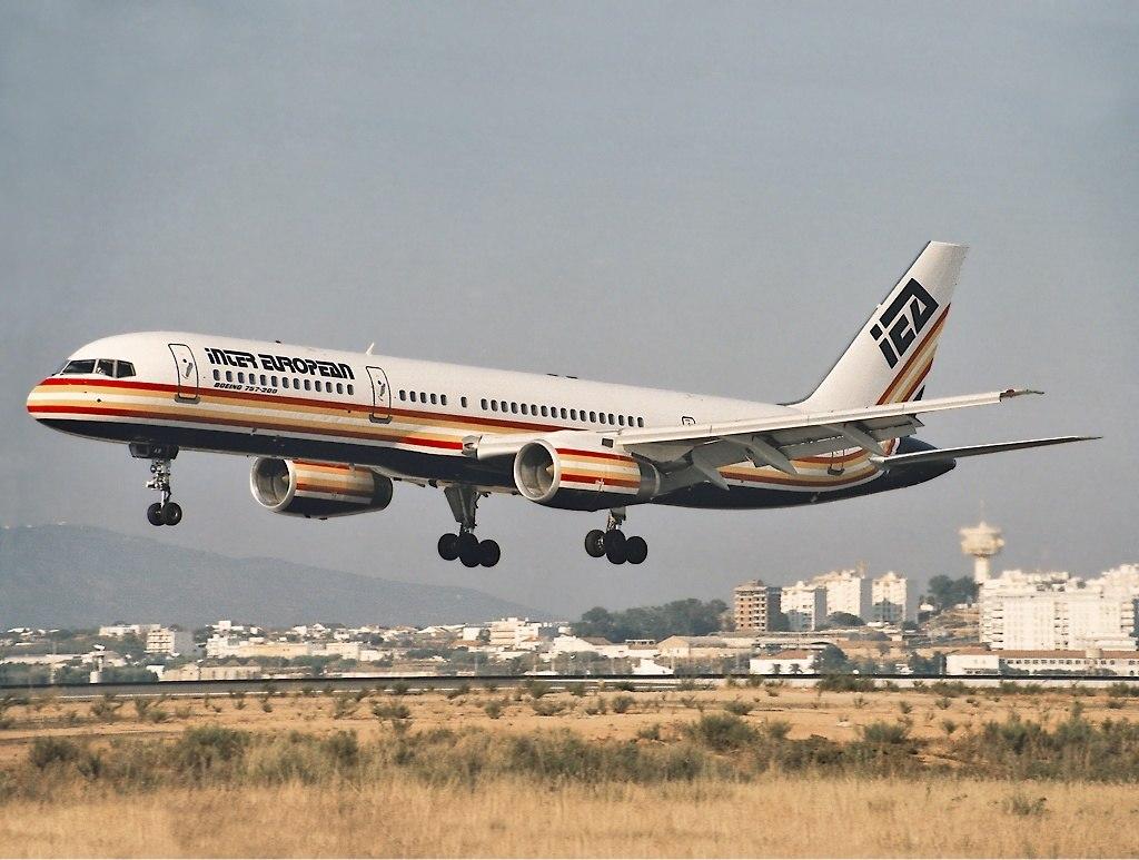 Inter European Airways Boeing 757-200 Aragao