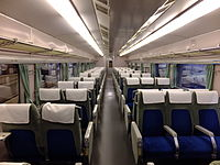 Interior of Shinkansen 0 type 21-2.jpg