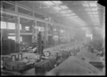 Interior view of a foundry at one of the railway workshops, possibly Hutt Railway Workshops, Woburn ATLIB 313864.png